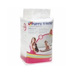 Lot de 50 tapis absorbeur d'urine chiot Puppy Trainer Large