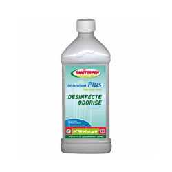 Bactéricide Saniterpen Plus pour élevage animaux 1 L