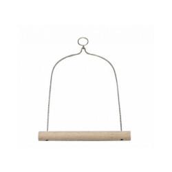 Balançoire en bois Ferplast pour oiseaux Modèle 4086