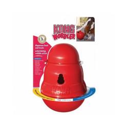 Balle à friandises Kong Wobbler pour chien
