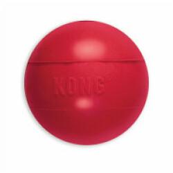 Balle en caoutchouc KONG medium large diamètre 7,5 cm