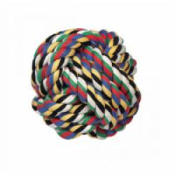 Balle en coton multicolore pour chiens