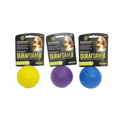 Balle increvable Fantastic Foam Ball Starmark pour chien