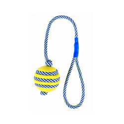 Balle sur une corde phosphorescente Trixie