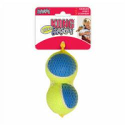 Lot de 2 balles à couinement pour chien KONG Ultra Squeakair Ball Large