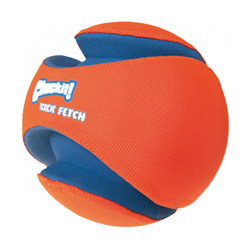 Ballon apportable Kick Fetch pour chien Small Ø14 cm