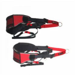 Baudrier ceinture canicross et canitrail Canistrail Kn1 Hauteur 150 mm Réglage 85 à 120 cm