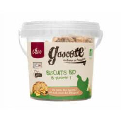Biscuits BIO pour poules seau de 200 g Gasco - Noix
