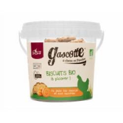Biscuits BIO pour poules seau de 200 g Gasco - Carottes