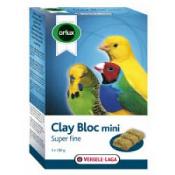 Bloc d'argile à picorer Clay Bloc Mini Orlux pour oiseaux