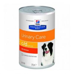Boîtes Hill's Prescription Diet Canine C/D 12 Boîtes de 370 g
