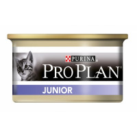 Boîtes de pâtée pour chats Pro Plan Junior 24 boîtes 85 g