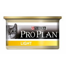 Boîtes pour chats Pro Plan Adulte Light 24 boîtes 85 g