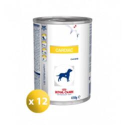 Boîtes Royal Canin Veterinary Diet Cardiac pour chiens 12 boîtes 410 g