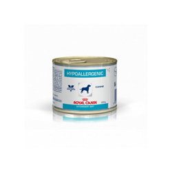 Boîtes Royal Canin Veterinary Diet Hypoallergenic pour chiens 12 boîtes 200 g