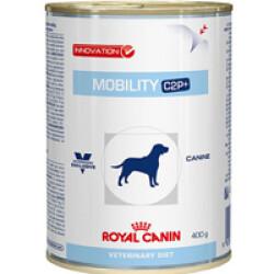Boîtes Royal Canin Veterinary Diet Mobility C2P+ pour chiens 12 boîtes 400 g