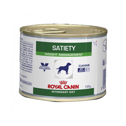 Boîtes Royal Canin Veterinary Diet Satiety Support pour chiens 12 boîtes 195 g