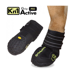 Bottines Kn'1 Grip Active pour protection des coussinets de chien T00 Lot de 2