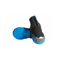 Bottines Ruffwear Polar Trex pour chien lot de 2 - Coloris Noir/Bleu T00