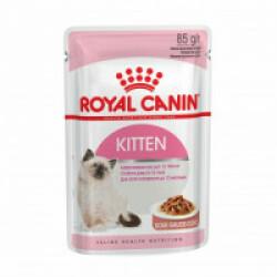 Bouchées en gelée pour chats Royal Canin Kitten Instinctive