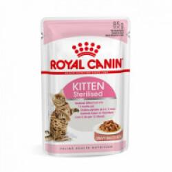Bouchées Royal Canin Kitten Sterilised 12 sachets 85 g