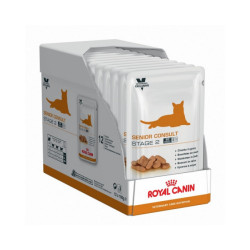 Bouchées en sauce Royal Canin Senior Consult Stage 2 Balance pour chats