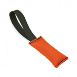 Boudin de rappel Flex pour chien Lg 24cm Ø 5.5cm couleur orange