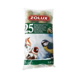 Boules de graisse 25 x 90g Zolux nourriture oiseaux sauvages