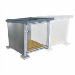Box d'attente toiture isolée module complémentaire