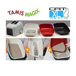 Filtre de rechange pour box maison toilette Tamis Magix pour litière de chat