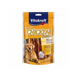 Bâtonnets à mâcher au poulet Vitakraft Pure Chicken Bonas 80 g