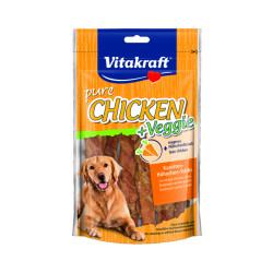 Bâtonnets de poulet avec morceaux de carottes Vitakraft 80 g