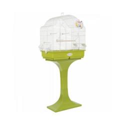 Cage à oiseaux avec pied 68 cm