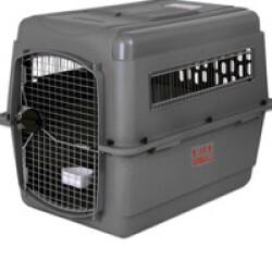 Cage avion et automobile Vari Kennel Sky pour le transport du chien T4 gris