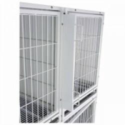 Séparateur pour 2 cages de gardiennage pour chien Taille M