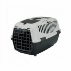 Cage de transport pour chiens et chats Friends on tour Capri gris Taille 2 Longueur 55 cm Largeur 37 cm Hauteur 34 cm