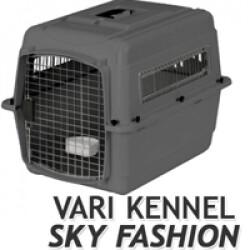 Cage avion et automobile Vari Kennel Sky pour le transport du chien T2 gris