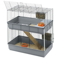 Cage Ferplast Rabbit 100 double pour lapins