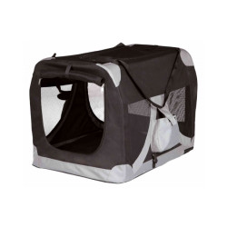 Cage polyvalente en tissu pour chien et chat T Camp De Luxe T1