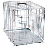 Cage pour chien métallique 2 portes