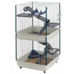 Cage pour furet Tower double-étages