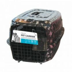 Caisse de transport chien ou chat M-Pets 47 x 32 x 26 cm Motifs pirates