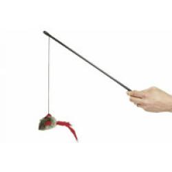 Canne à pêche High Tech pour chats