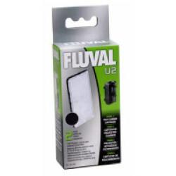 Cartouche polycarbone Fluval - Lot de 2 U2 pour filtre A470