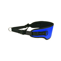 Ceinture Trek Color pour canicross - Taille Senior (Bleue)
