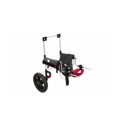 Chariot avec harnais portage postérieur pour chien et chat handicapés CANIS-MOBILE - Petit Modèle XS
