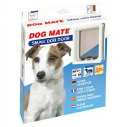 Chatière manuelle blanche pour chien Dog Mate Small 221 W