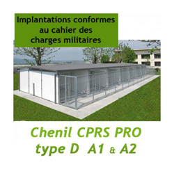 Chenil administration CPRS PRO Type D unité de base