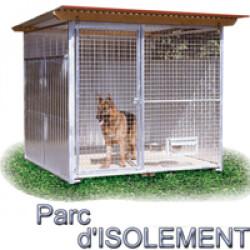 Chenil d'isolement pour chien & chat Modèle simple 2 x 2m