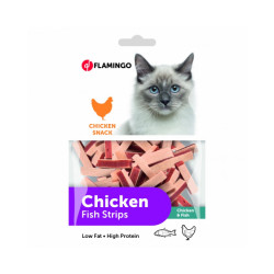 Chick'n Sandwich Flamingo pour chats